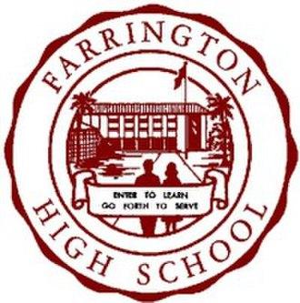 Farrington High School - Image: Farrington High School logo