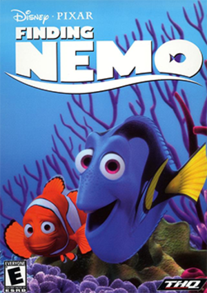Finding Nemo (video game) - Image: Finding Nemo Coverart