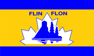 Flag of Flin Flon