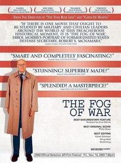 <i>The Fog of War</i> 2003 documentary by Errol Morris