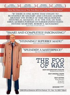 The Fog of War - Theatrical release poster