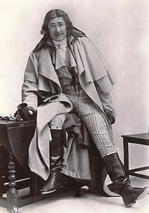 The Scarlet Pimpernel - Fred Terry in The Scarlet Pimpernel, 1905