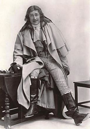 Fred Terry in The Scarlet Pimpernel crop