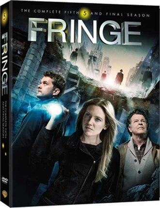 Fringe (season 5) - Region 1 DVD cover
