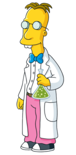 Professor Frink fictional character from The Simpsons franchise