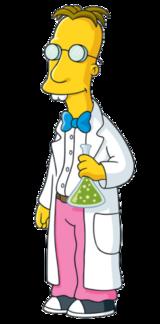 cientifico de los simpson