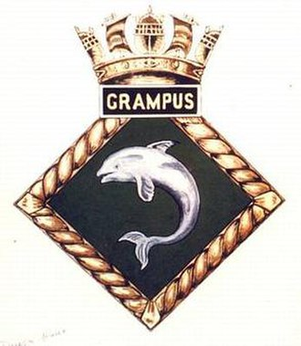 HMS Grampus (N56) - Image: GRAMPUS badge 1