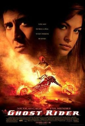 Ghost Rider (film) - Theatrical release poster