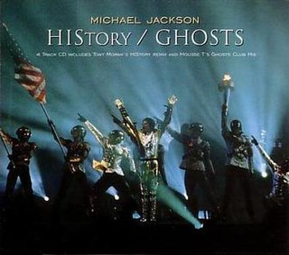 Ghosts (Michael Jackson song) 1996 song by Michael Jackson