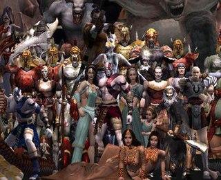 Characters of <i>God of War</i> Wikimedia list article