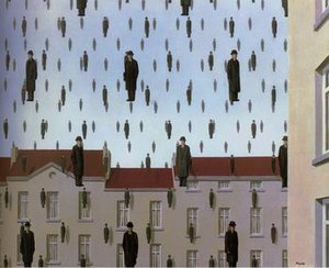 Golconda (Magritte) - Image: Golconde