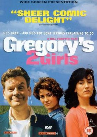 Gregory's Two Girls - Image: Gregory's Two Girls DVD cover