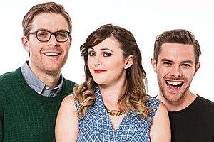 Guy, Sharyn & Clint - Image: Guy, Sharyn & Clint