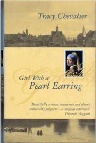 Girl with a Pearl Earring (novel) - First British edition dustjacket