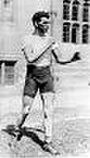 Harry Mallin - Mallin in the early 1920s