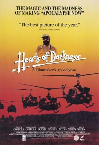 Hearts of Darkness: A Filmmaker's Apocalypse - Theatrical release poster