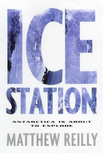Ice Station - 2000 St. Martin's Paperback cover