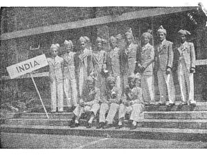 India at the 1948 Summer Olympics - Indian Cycle Team 1948 Olympics--Mistry, Amin, Noble, Saugar, Bhoot, Malcolm, Mehra, Mullaferoze, Sarkar, Pavri, Bysack, Havewala