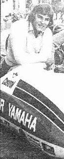 Jock Taylor British sidecar racer