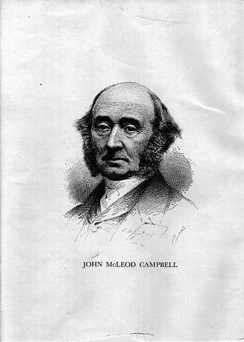 John Mcleod Campbell in his later years