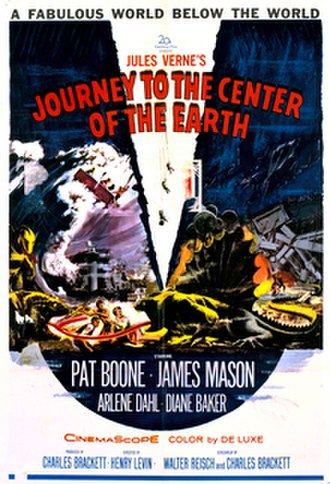 Journey to the Center of the Earth (1959 film) - Theatrical release poster