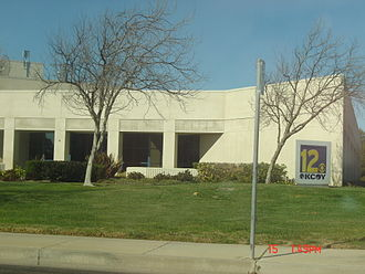 KCOY-TV - Their studios at the corner of Skyway Drive and McCoy Lane in Santa Maria.