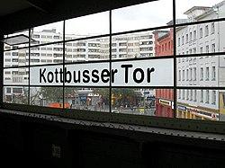 Kottbusser Tor (Metro train station)