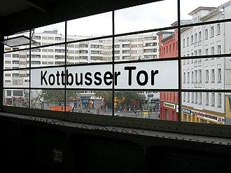 Kreuzberg - Kottbusser Tor (Berlin U-Bahn station)