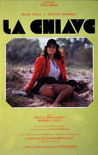The Key (1983 film) - Italian film poster for The Key