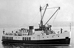 MV Lady Rose - Image: Lady Rose (motor vessel) 1940s
