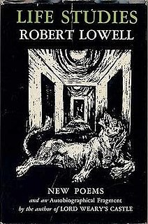 <i>Life Studies</i> book by Robert Lowell