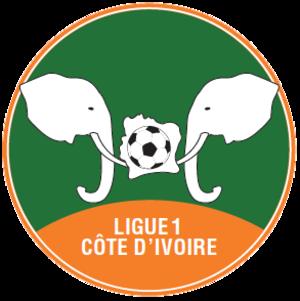 Ligue 1 (Ivory Coast) - Image: Ligue 1 (Côte d'Ivoire) logo