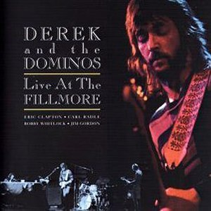 Live at the Fillmore (Derek and the Dominos album) - Image: Live at Filmore Cover