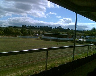 Liversedge F.C. - Image: Liversedge North Stand