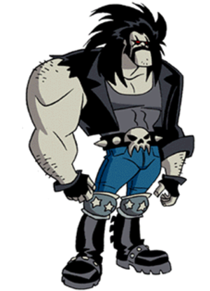 Lobo (DC Comics) - Lobo as he appears in Superman: The Animated Series.