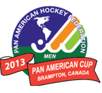 Logo of the 2013 Men's Pan American Field hockey cup.png