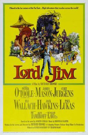 Lord Jim (1965 film) - Original film poster by Howard Terpning