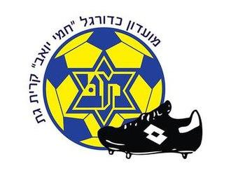 Maccabi Kiryat Gat F.C. - Image: Maccabi Kiryat Gat F.C