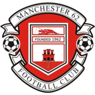 Manchester 62 F.C. - Image: Manchester 62 FC badge