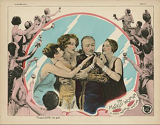 The Masked Woman - Lobby card