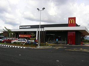 McDonald's fast food restaurant at Kulim, Keda...