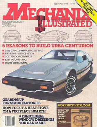 Mechanix Illustrated - MI cover from February 1982