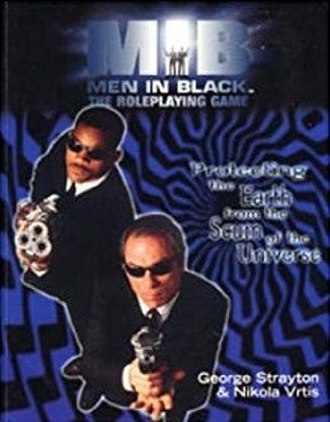 Men In Black: The Roleplaying Game - Image: Men In Black, The Roleplaying Game