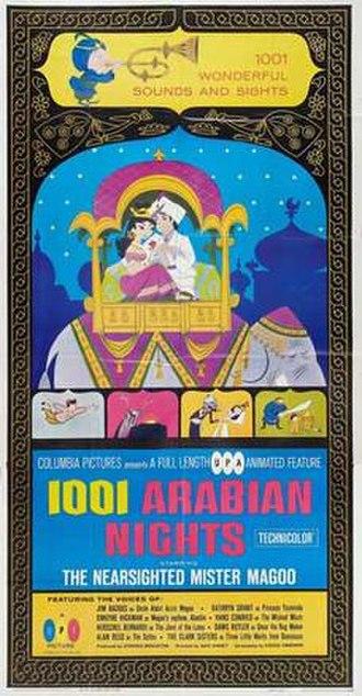 1001 Arabian Nights (1959 film) - Original theatrical poster