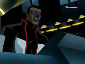 "Mister Terrific (Michael Holt) - Mr. Terrific on Justice League Unlimited in the episode ""Destroyer""."