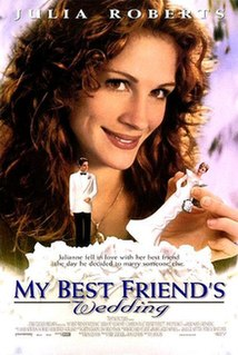 <i>My Best Friends Wedding</i> 1997 film by P. J. Hogan