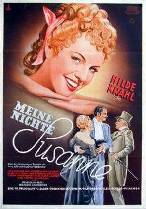 My Niece Susanne - Film poster