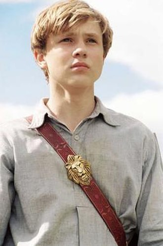 Peter Pevensie - Peter Pevensie in the 2005 film, The Chronicles of Narnia: The Lion, the Witch and the Wardrobe.