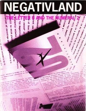 The Letter U and the Numeral 2 - Image: Negativlandfront U2