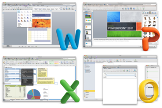 Microsoft Office for Mac 2011 - Image: Office 2011